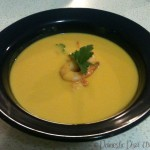 Thai Pumpkin Soup with Prawns