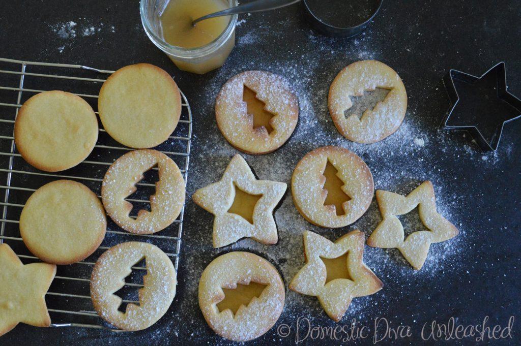 Domestic Diva-Vanilla Jam Cookies