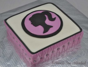 Domestic Diva: Barbie Cake