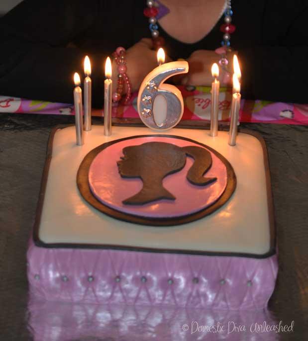 Domestic Diva Barbie Birthday Cake