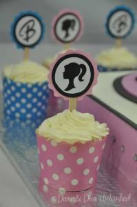 Domestic Diva: Barbie Cup Cakes