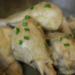 Domestic Diva - Chicken Drumsticks with Pear and Celery Marinade -Thermomix