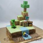 Domestic Diva: Minecraft Cake