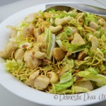 Domestic Diva: Wombok Salad with Chicken