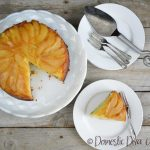 Domestic Diva - Pear Upside Down Cake