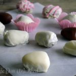 Domestic Diva: Carob & White Chocolate Easter Eggs
