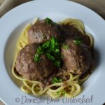 Jimmy's meatballs & spaghetti