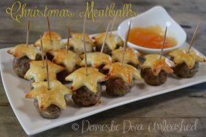 Domestic Diva - Christmas Meatballs